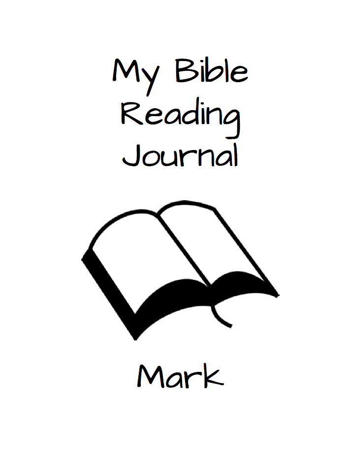Kids in the Word: Mark Bible Reading Journal