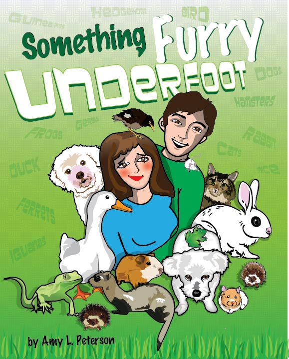 #Interview with author of Something Furry Underfoot, Amy L Peterson!