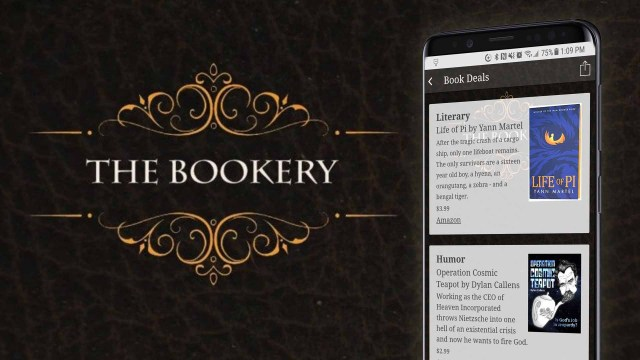 The New The Bookery App