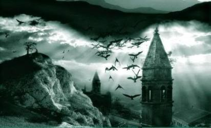 gothic horror castle setting dark frankenstein morbid literature abandoned secret ruined story romance elements writing history trap rooms passages definitely