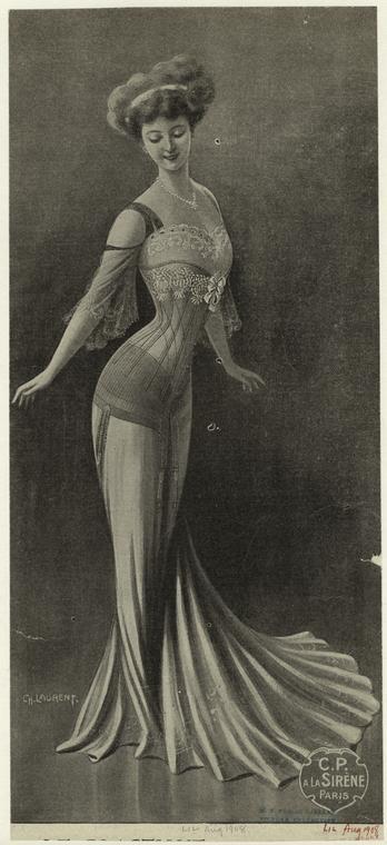 edwardian corset