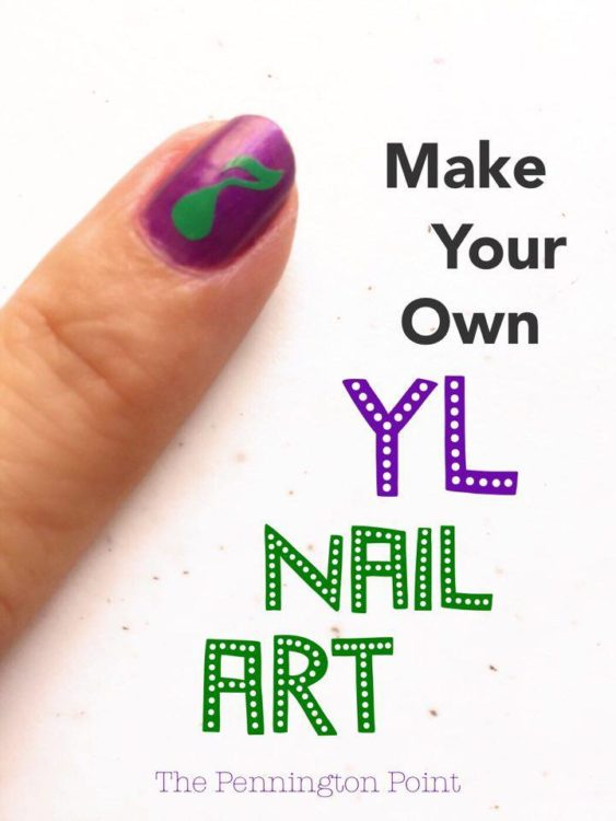 Make Your Own Nail Art Using Cricut Great Ideas For Building Young Living Business