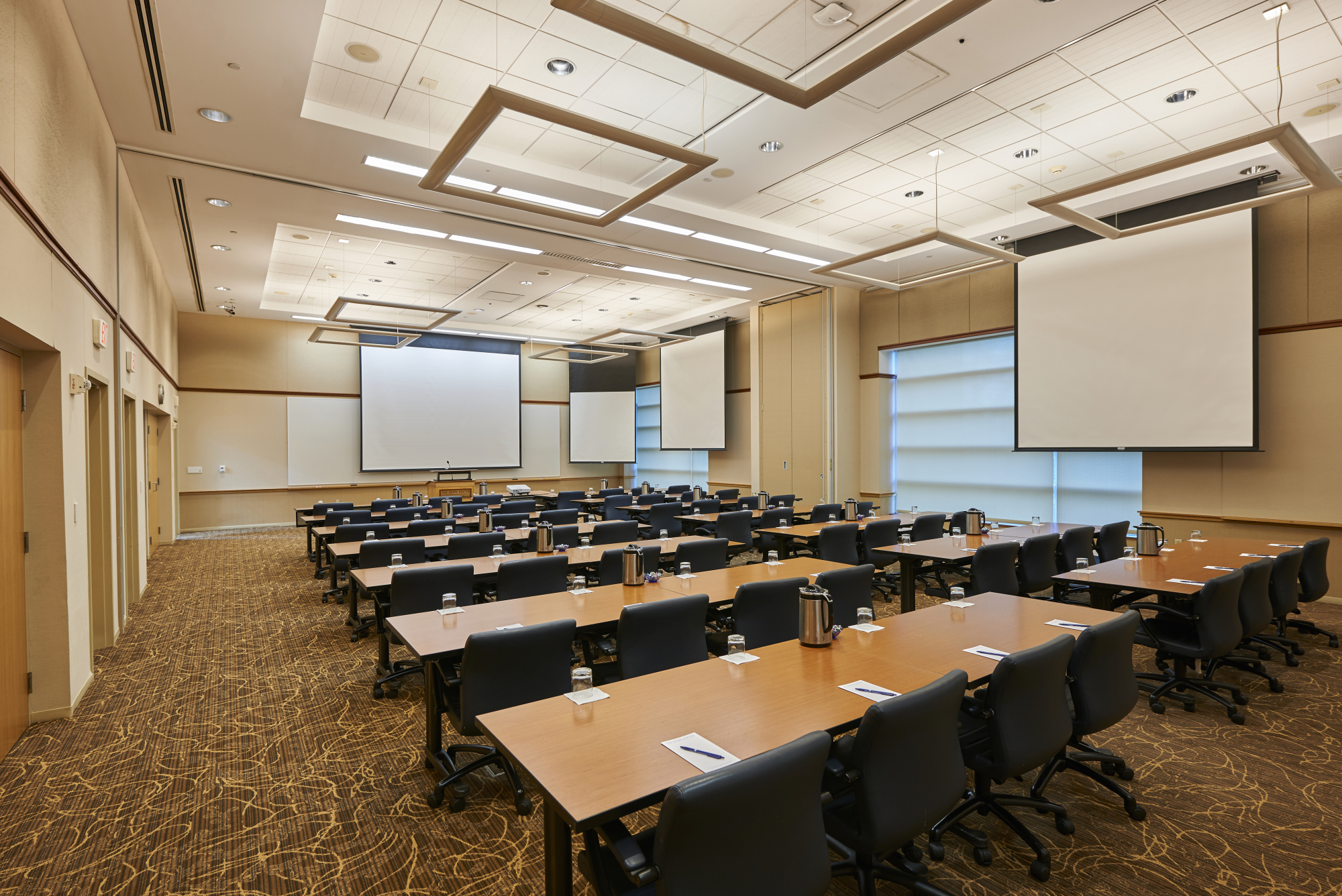 executive conference room the