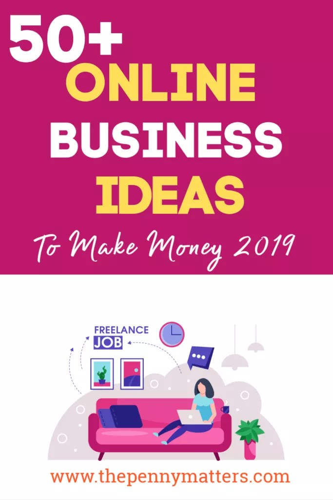 50+ online business ideas to Make Money Online