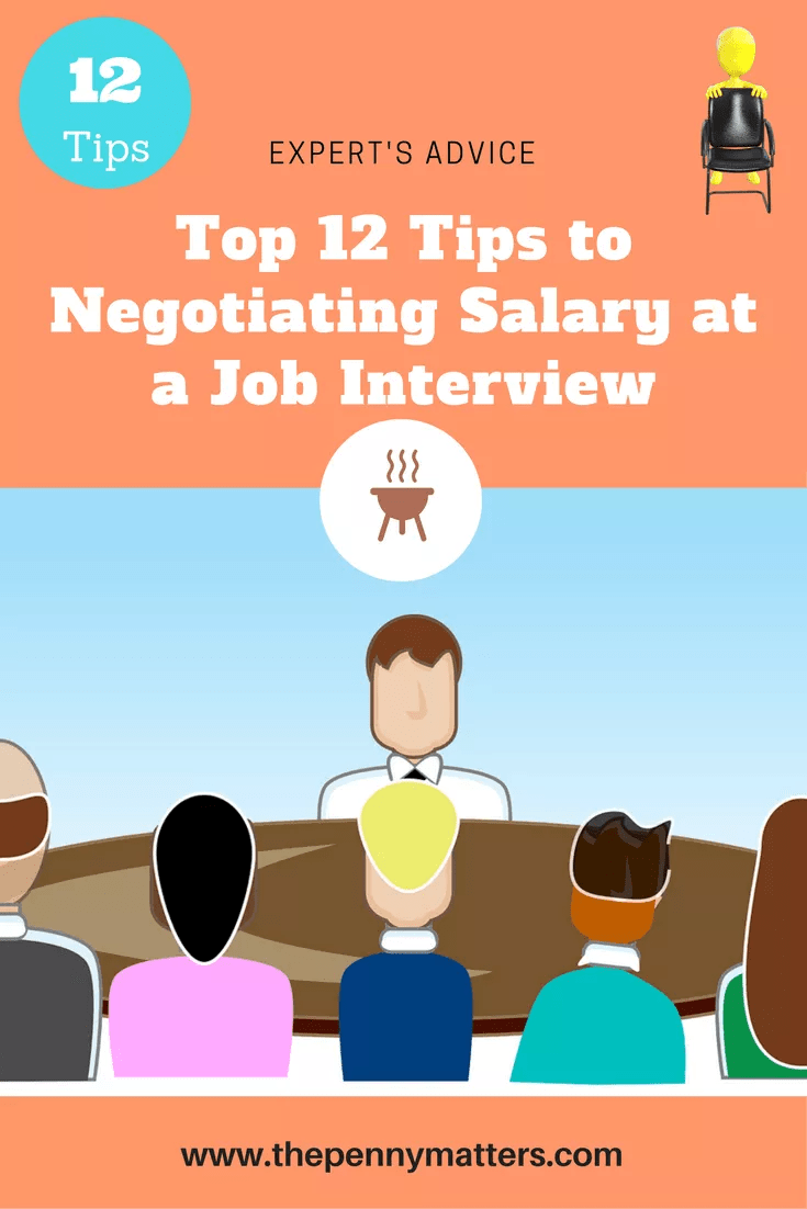 Top 12 Tips to Negotiating Salary at a Job Interview The Penny Matters