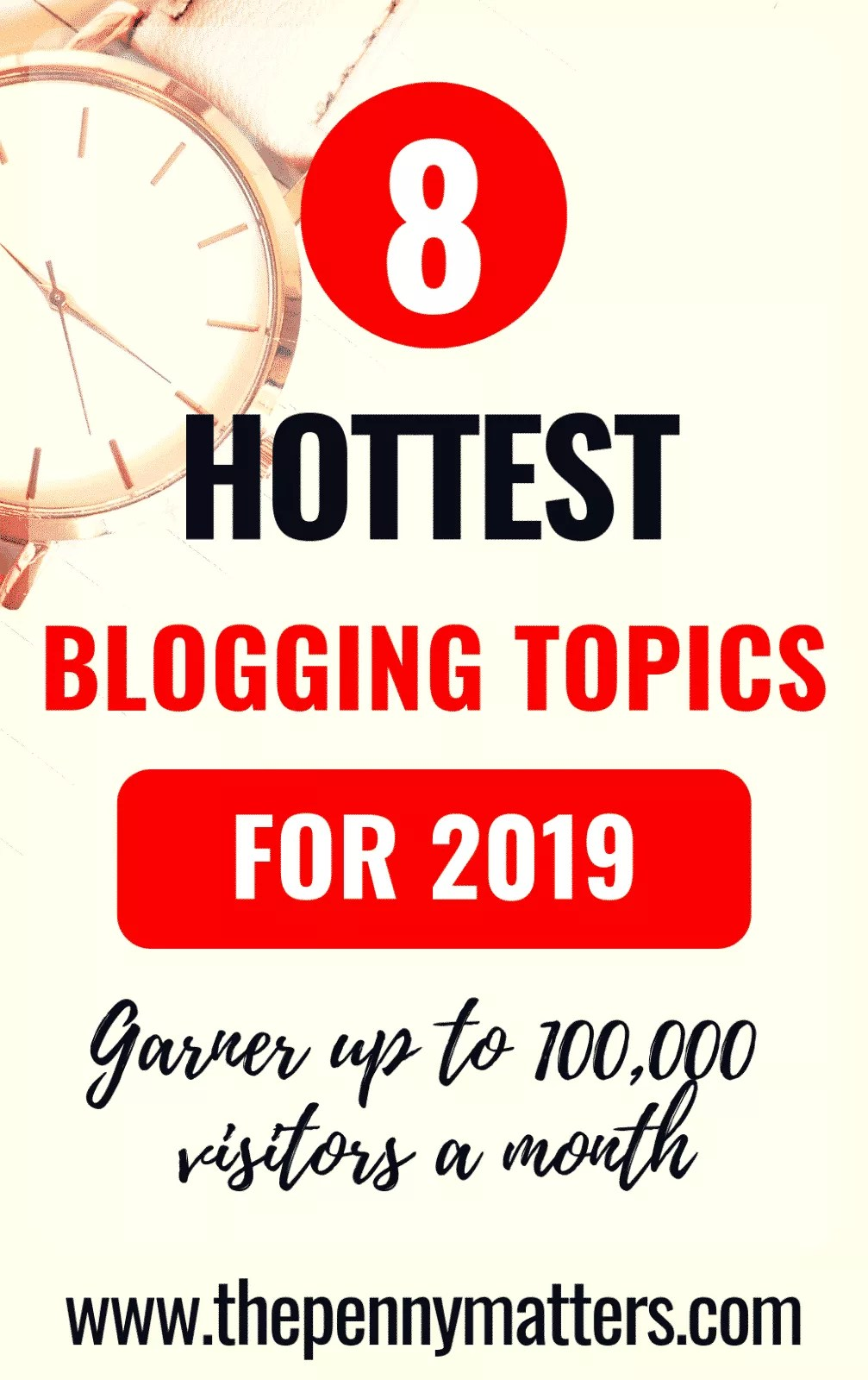 8 of the hottest blogging topics to blog about