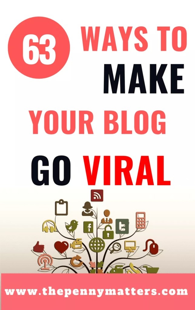 63 ways to make your blog go viral