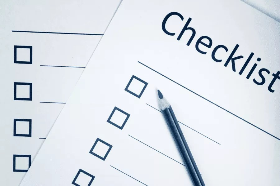 Content writing checklist