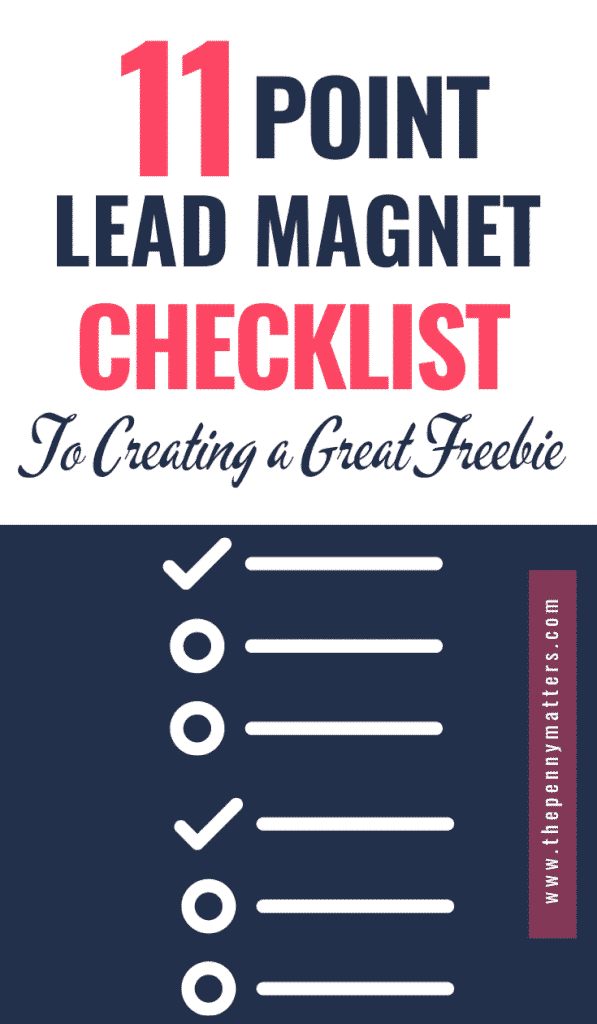 11-point lead magnet checklist for creating download-worthy incentives
