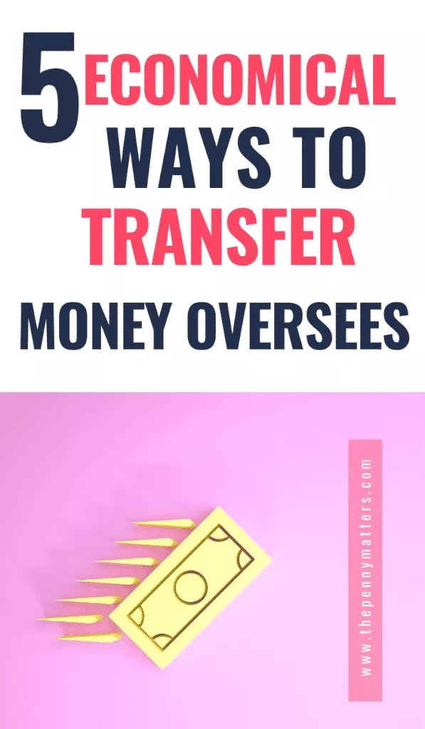 5 economical ways to transfer money oversees
