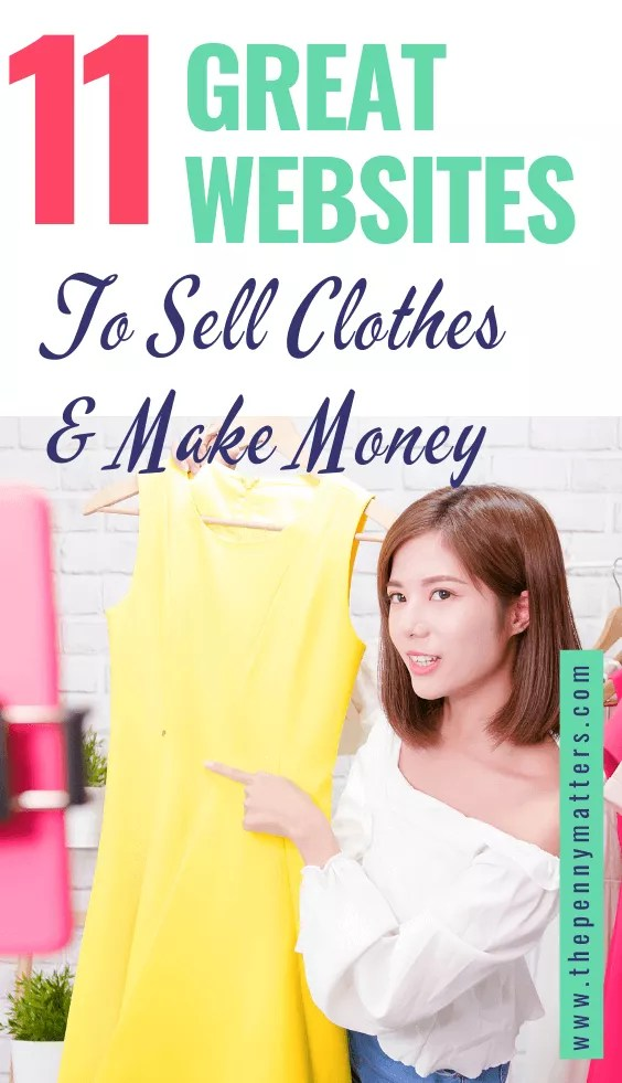 11 best places to sell clothes online and make money