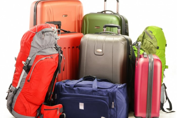 Large collection of luggage