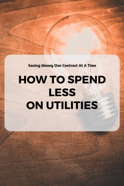 How To Spend Less On Utilities