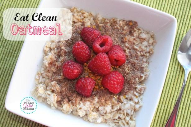 eat clean oatmeal