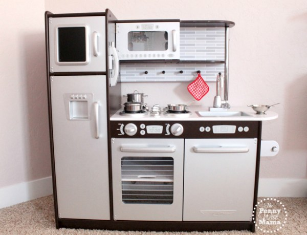 kidkraft uptown espresso play kitchen KidKraft Uptown Espresso Kitchen Review - The PennyWiseMama