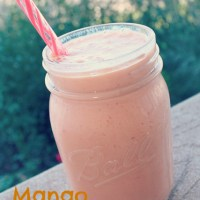 All About Mangos + Mango Smoothie Recipe