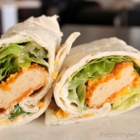 Spicy Chicken Wraps with Tyson Chicken Nuggets