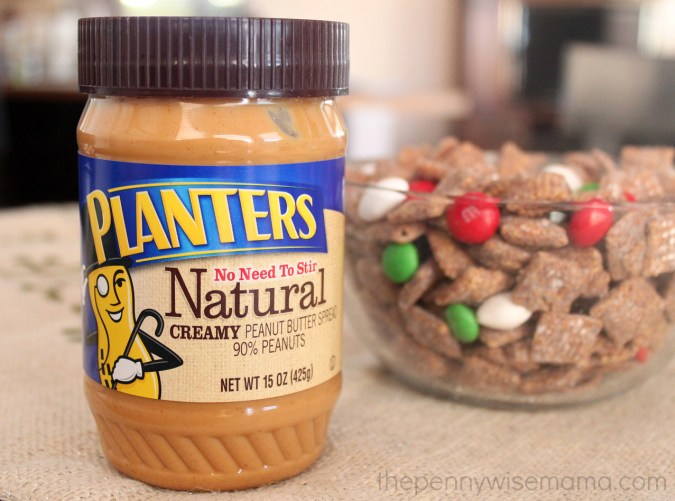 Reindeer Chow with Planters Peanut Butter