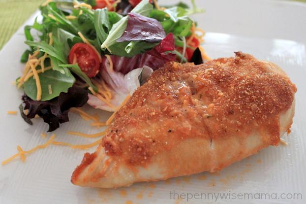 BBQ Cheddar Crusted Chicken Recipe