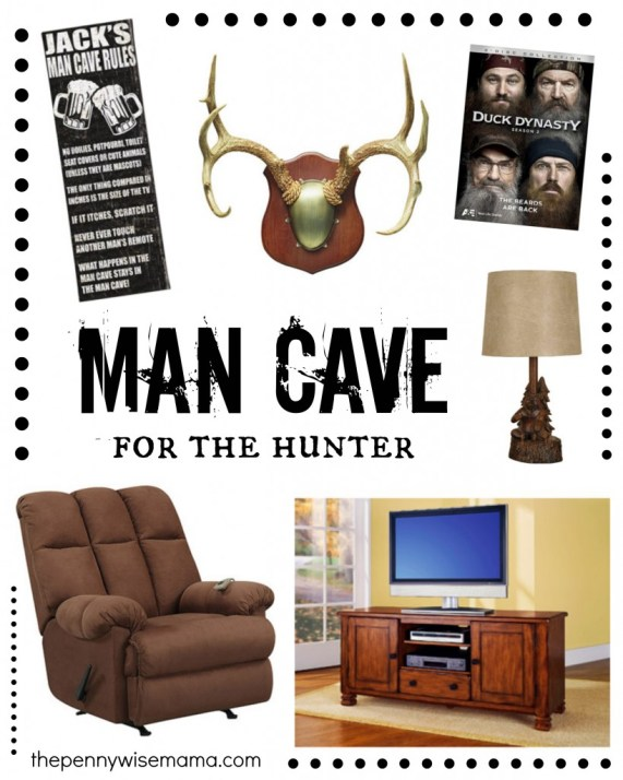 Man Cave for the Hunter