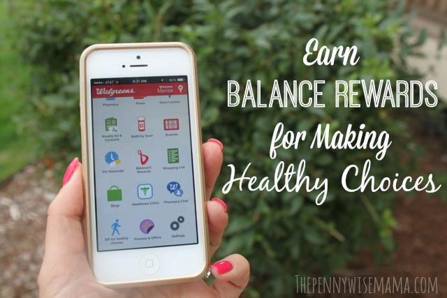 Earn Balance Rewards at Walgreens for Making Healthy Choices