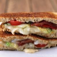 Bacon, Tomato, Avocado & Havarti Grilled Cheese