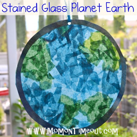Make a Stained Glass Planet Earth