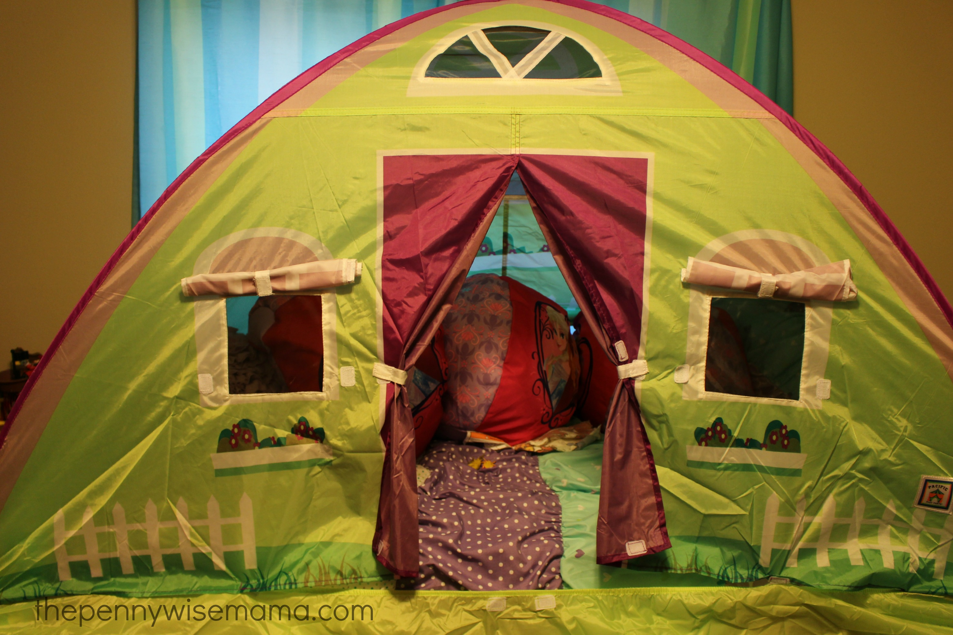 Pacific Play Bed Tent & All Aboard For The New Pacific