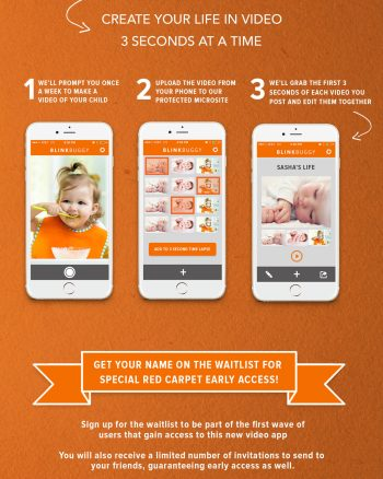 Create time lapse videos of your kids with the Blinkbuggy App