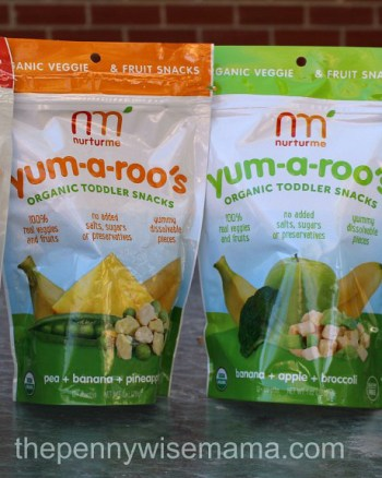 Nurturme Organic Toddler Snacks