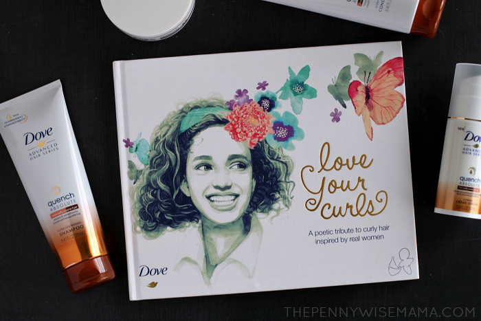Dove Love Your Curls Book