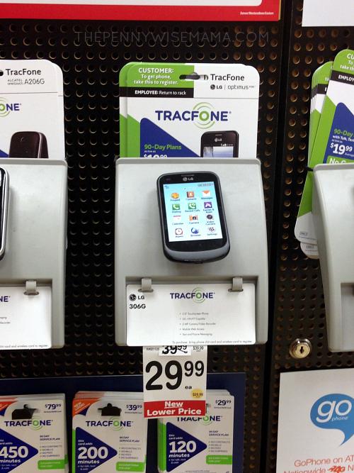 Prepaid Wireless Cards at Safeway