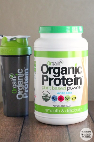 Orgain Organic Protein Powder Giveaway