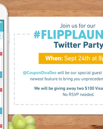 #FlippLaunch Twitter Party
