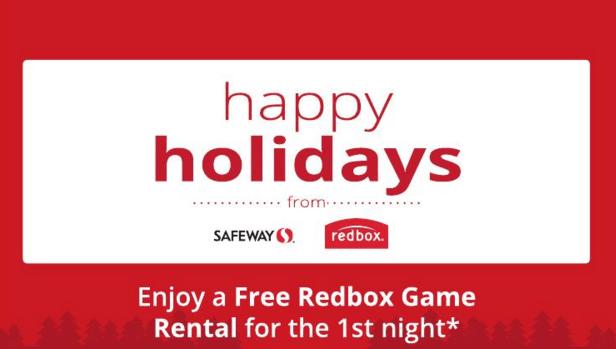Free Redbox Rental & Letter from Santa