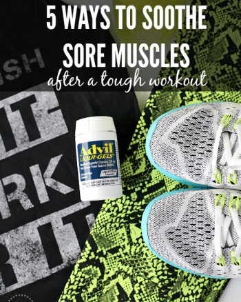 5 Ways to Soothe Sore Muscles After a Tough Workout