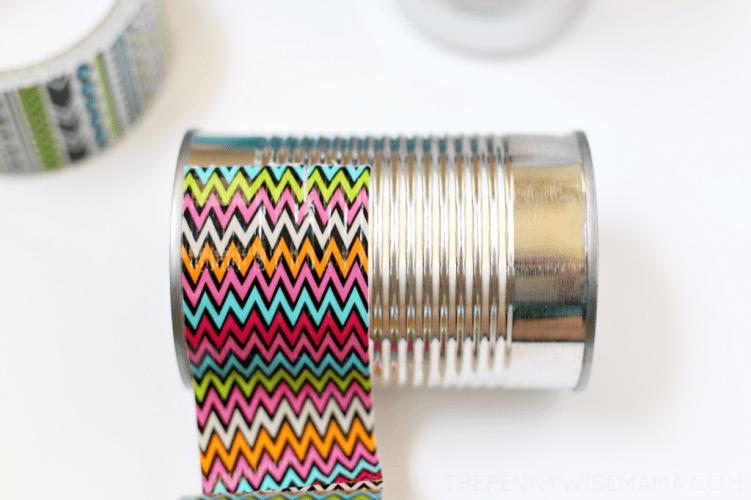 DIY Duck Tape Pencil Holder