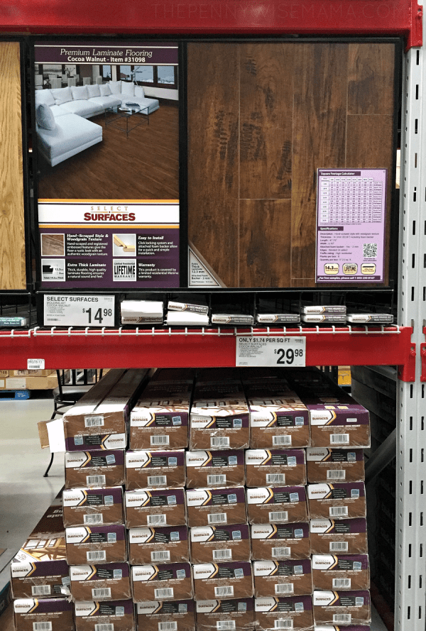 Select Surfaces Laminate Flooring at Sam's Club