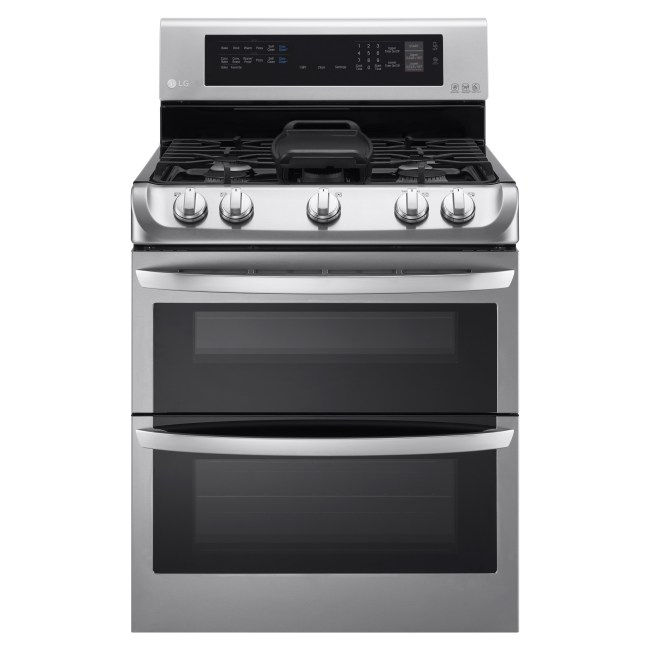 LG ProBake Double Oven at Best Buy
