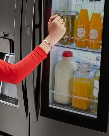 LG InstaView Door-In-Door Refrigerator at Best Buy