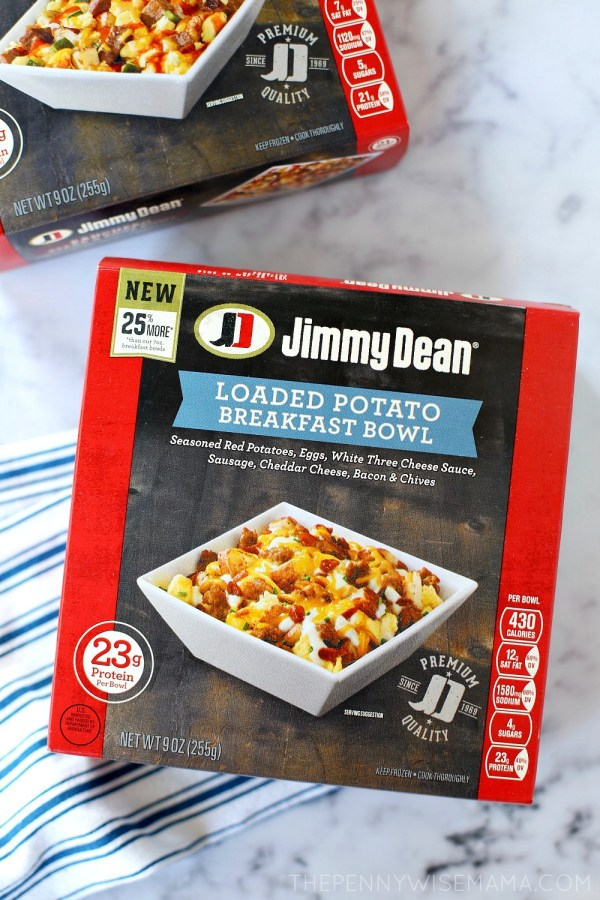 Jimmy Dean Breakfast Bowl