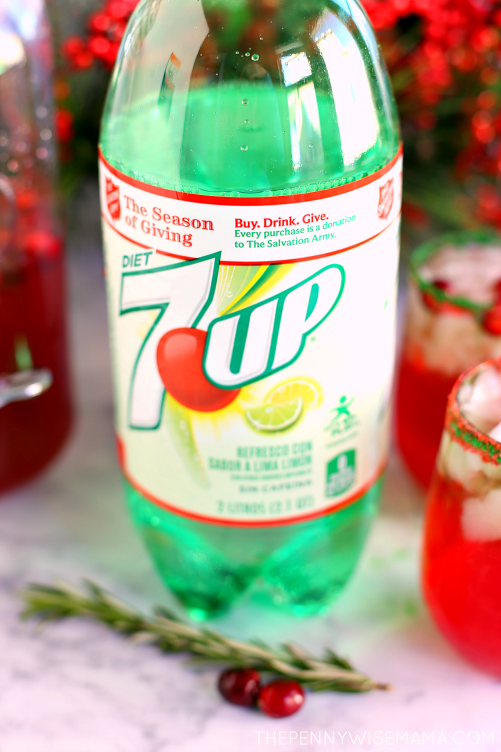 Give Back this Holiday Season with Salvation Army & 7UP