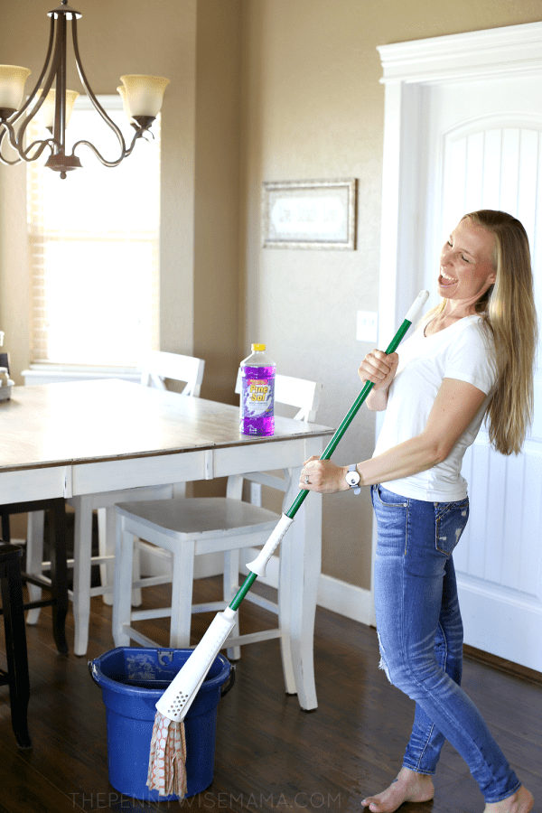 Make Cleaning Fun! Pine-Sol My Clean Moves Contest