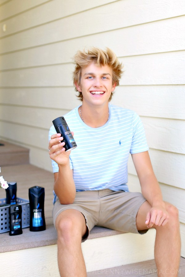 Inspire His Style for Back to School with AXE