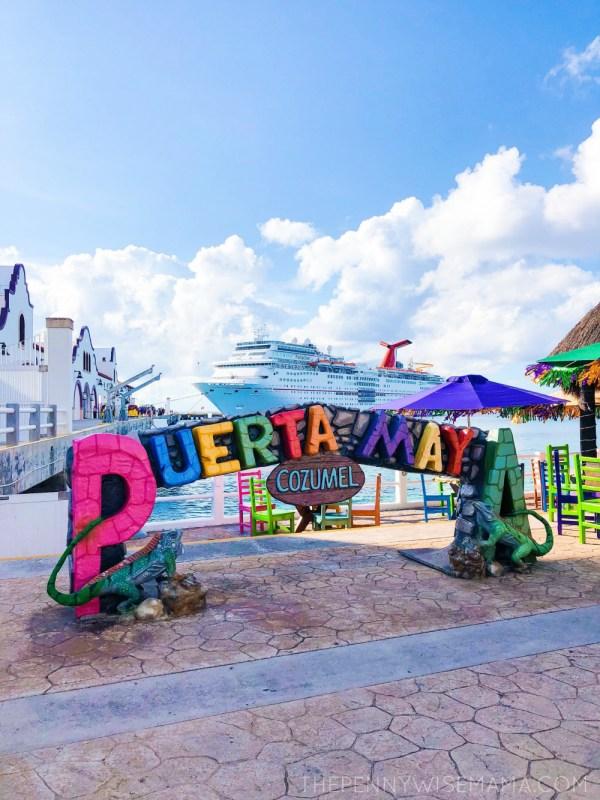 Carnival Cruise - Puerto Maya, Cozumel