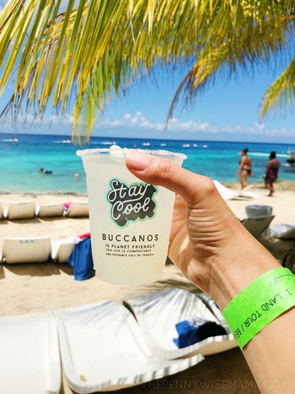 Carnival Cruise - Relaxing in Cozumel
