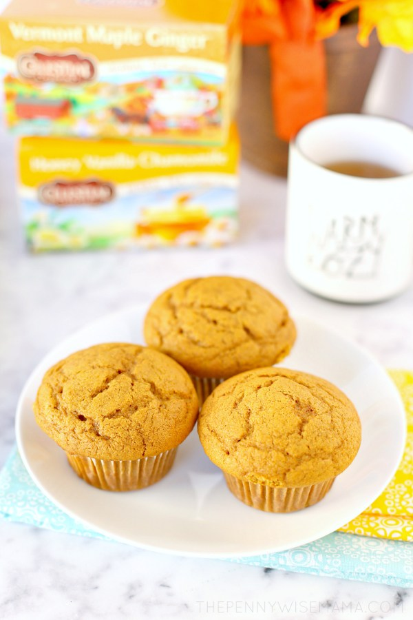 The Best Pumpkin Muffins - a delicious and healthy pumpkin muffin recipe
