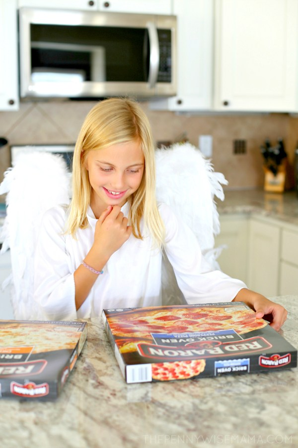 The Perfect Halloween Dinner: Red Baron Brick Oven Pizza