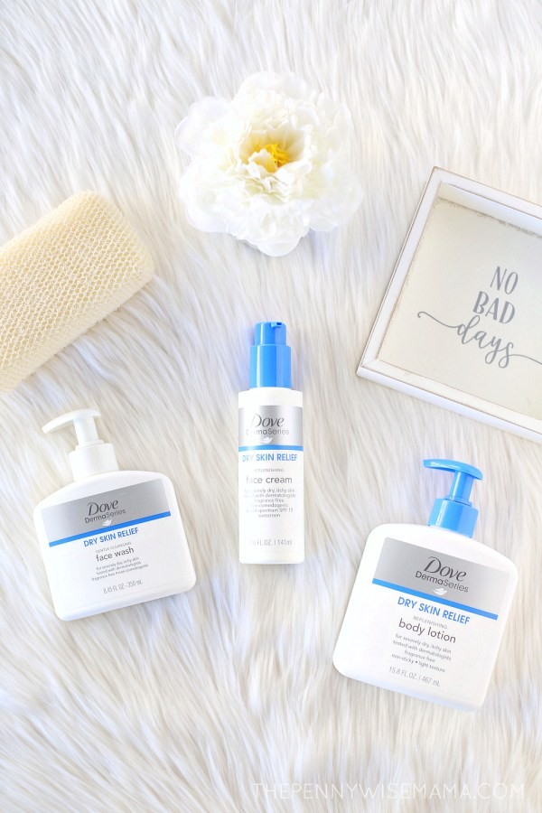 Relieve Dry Skin with New Dove DermaSeries Skincare Line