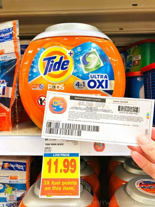 Save $3 on Tide PODS Laundry Detergent {Printable Coupon}